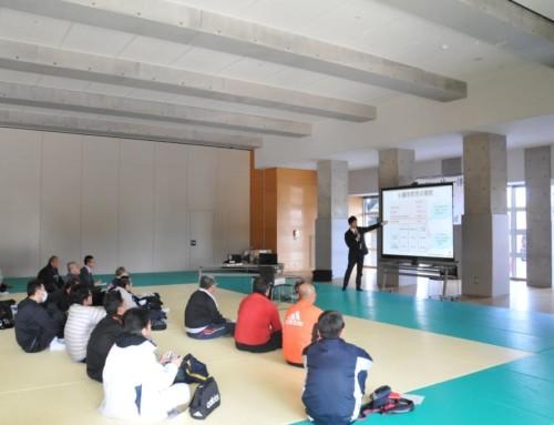 豊田市体育協会 指導者研修会でいのちの教室を開催