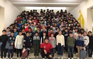 1月15日、世田谷区立芦花小…